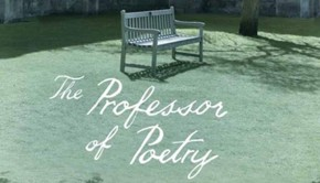 Mcclean Professor of Poetry