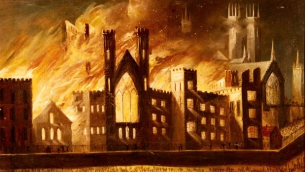 The Day Parliament Burned Down by Caroline Shenton